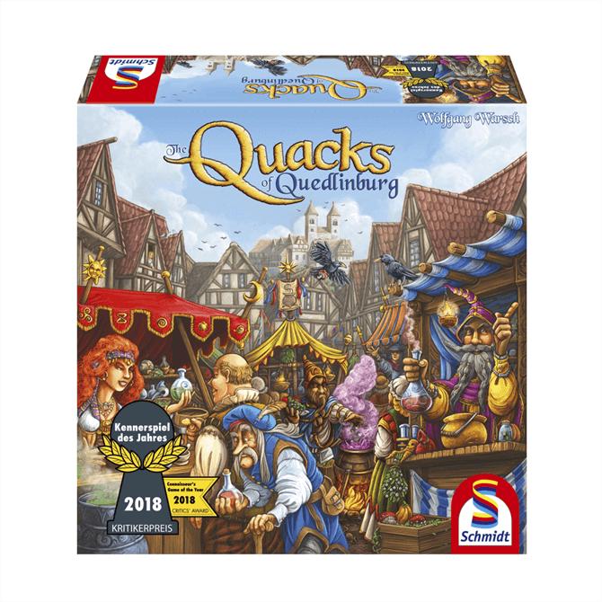 The Quacks of Quedlinburg Game