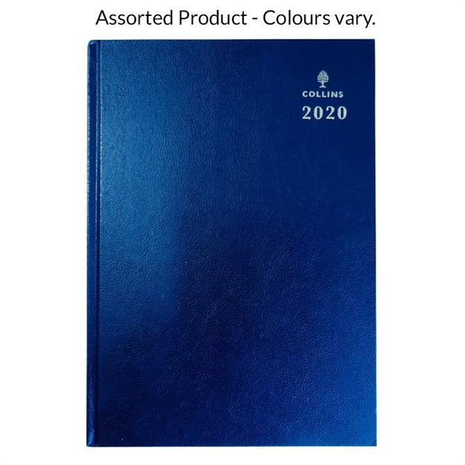 Collins Desk A5 Week To View 2020 Diary with Appointments - Assorted