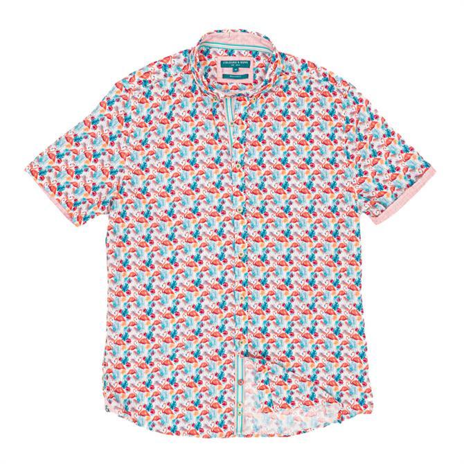 Colours & Sons Nathan Short Sleeve Shirt