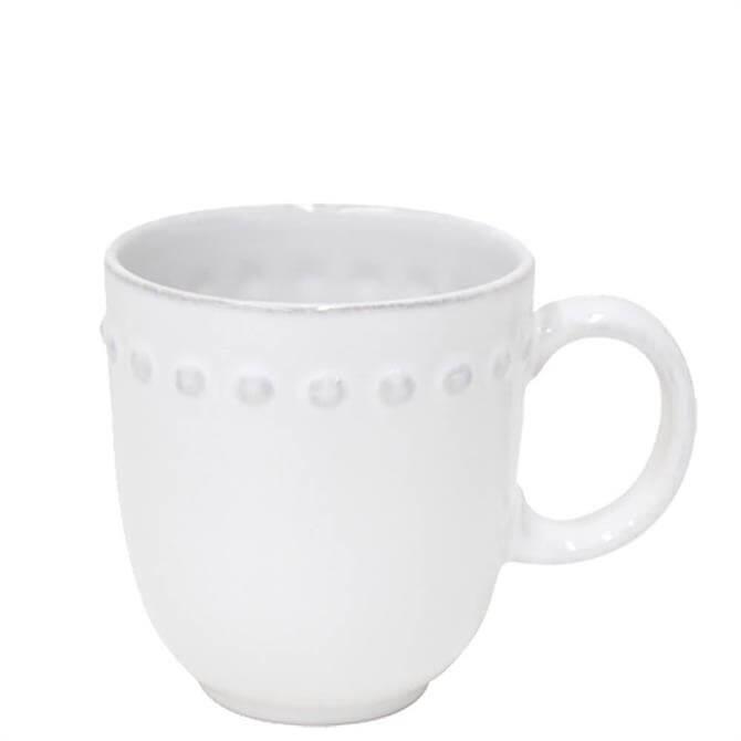 Costa Nova Pearl White Mug