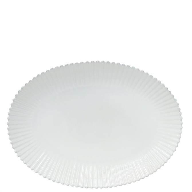 Costa Nova Pearl White Oval Platter