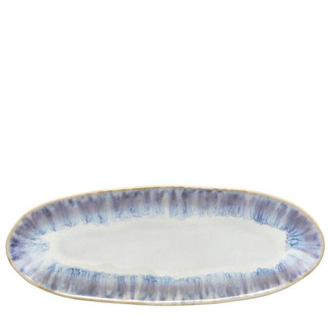 Costa Nova Brisa Ria Blue Oval Plate/Platter