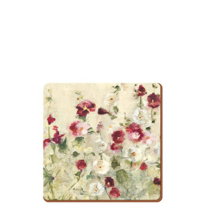 Creative Tops Pack of 6 Wild Field Poppies Coasters