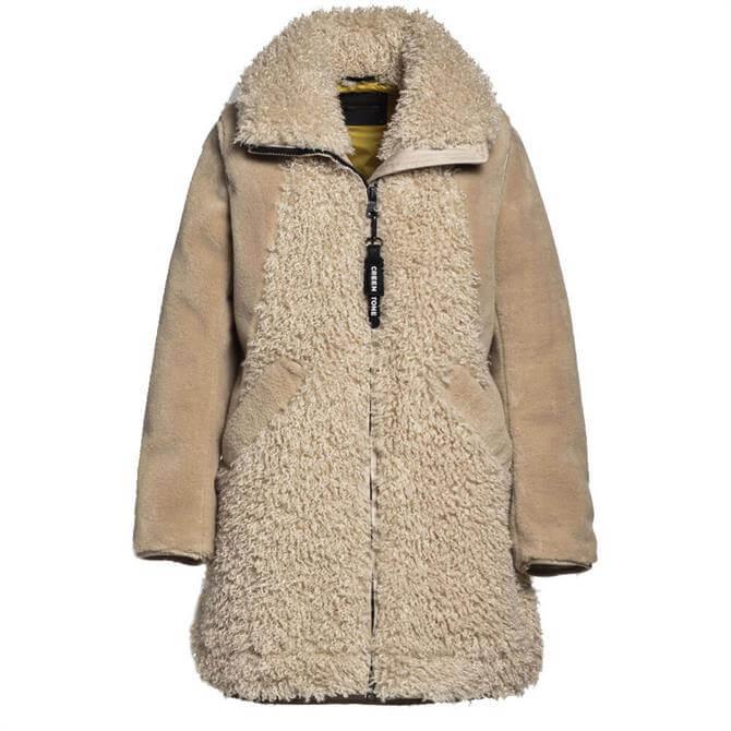 Creenstone Faux Monglian Lammy Coat
