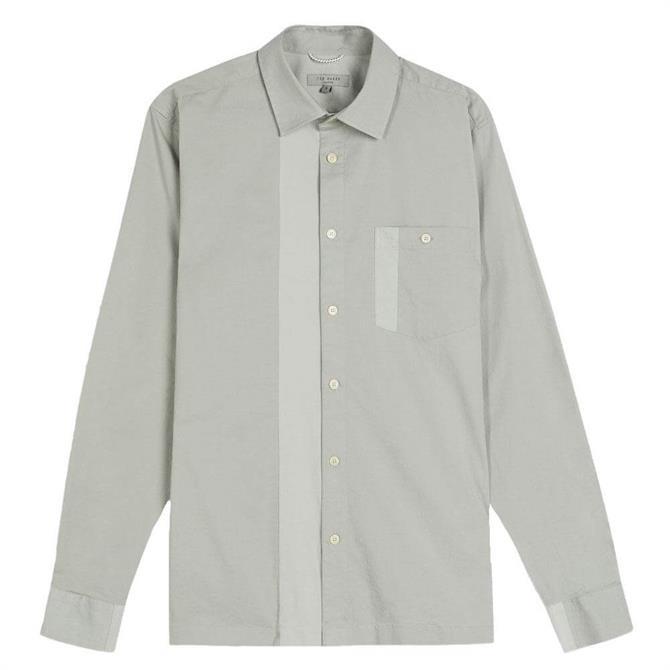 Ted Baker Plantin Panneled Shirt