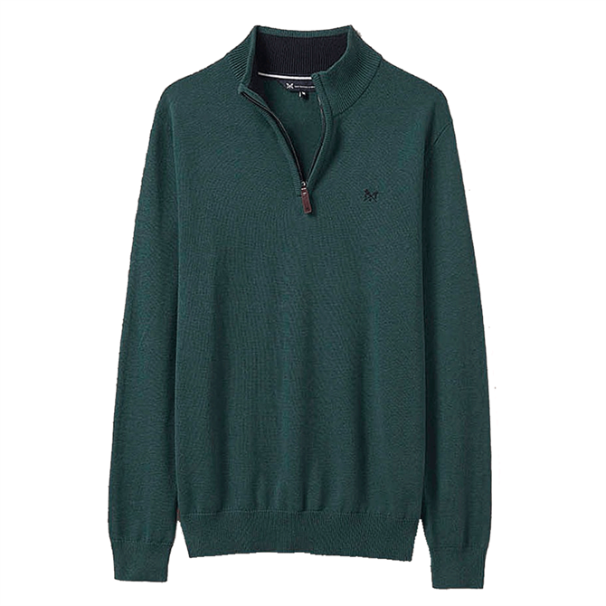 Crew Clothing Classic Half Zip Knitted Jumper
