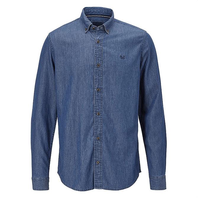 Crew Clothing Darwell Denim Slim Fit Shirt