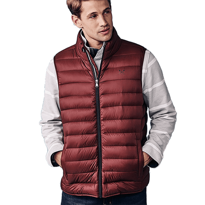Crew Clothing Lightweight Gilet - Portroyale