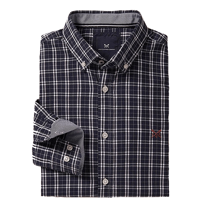 Crew Clothing Millon Slim Check Shirt