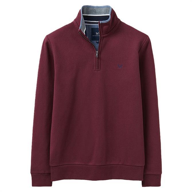Crew Clothing Classic Half Zip Sweatshirt