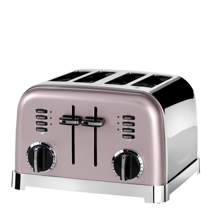Cuisinart Vintage Rose 4 Slice Toaster
