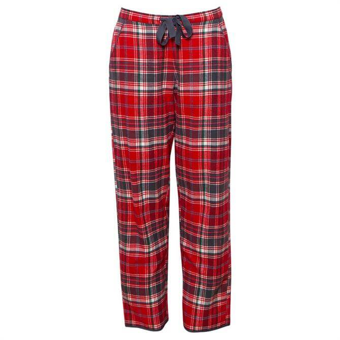 Cyberjammies Belle Woven Checked Pyjama Trousers