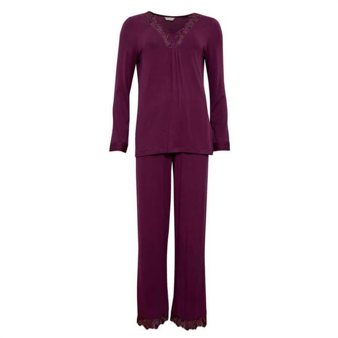 Cyberjammies Jennifer Jersey Pyjama Set
