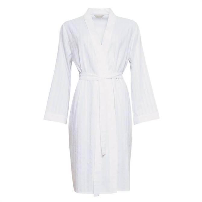 Cyberjammies Sasha Sateen Stripe Dressing Gown