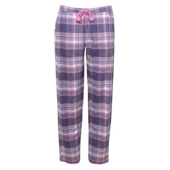 Cyberjammies Serena Brushed Check Pyjama Trousers