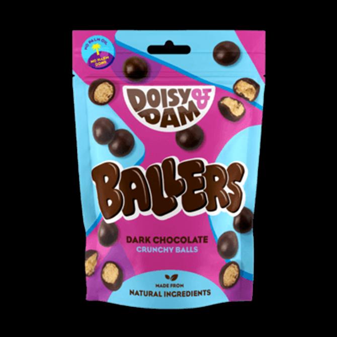Doisy & Dam Dark Chocolate Ballers 75g