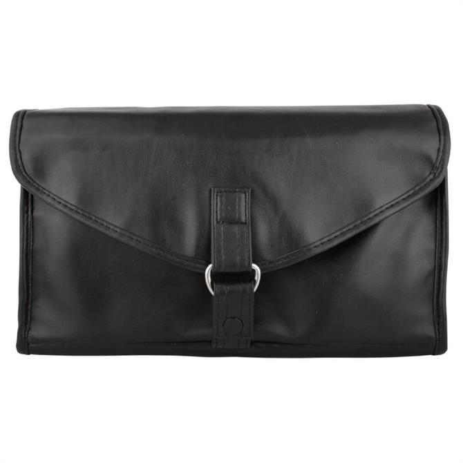 Danielle Men's Black Milano Hang Up Toiletry Caddy