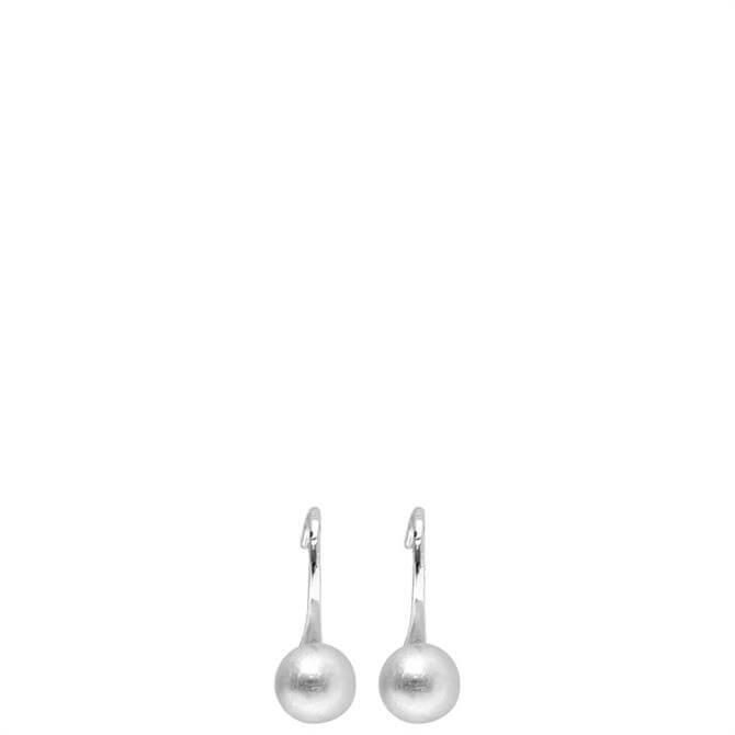 Dansk Smykkekunst Tabitha Silver Dot Hook Earrings