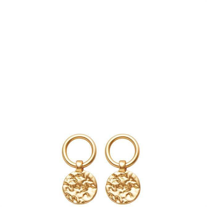 Dansk Smykkekunst Amber Simple Earrings