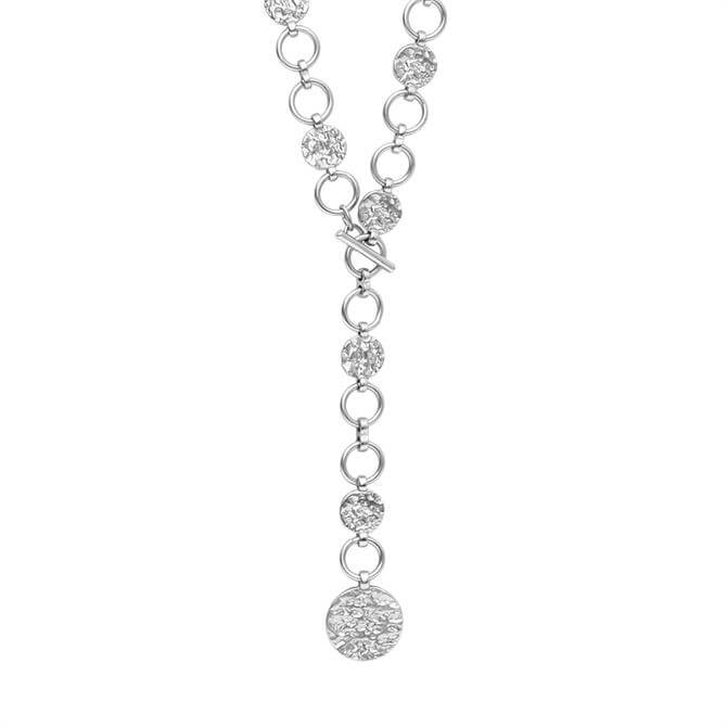 Dansk Smykkekunst Amber T-Bar Necklace