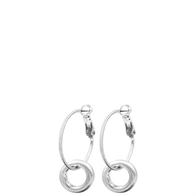 Dansk Smykkekunst Infinity Small Chunky Hoop Earrings