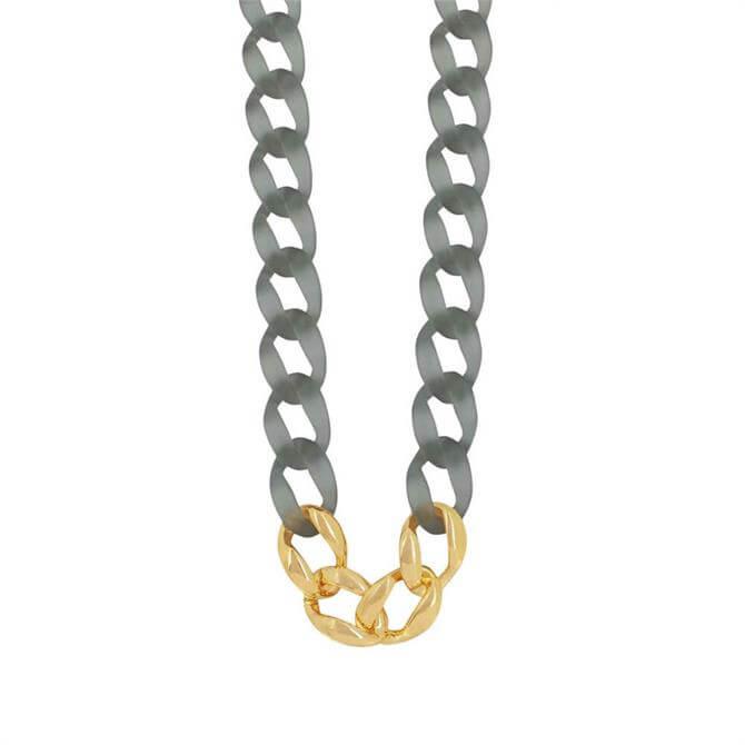 Dansk Quiver Grey Long Necklace