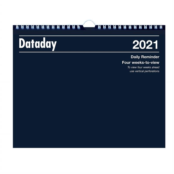 Dataday 2021 54 Four Weeks-to-View Calendar