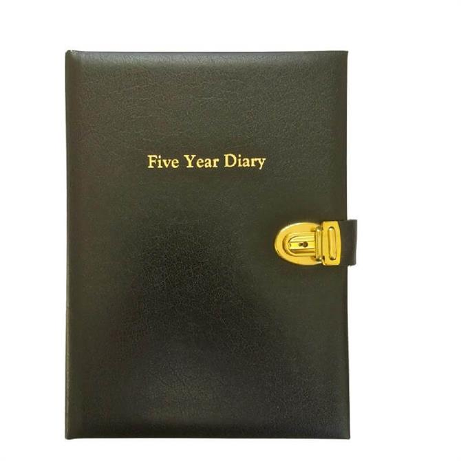 Dataday 2021 Classic Five Year Diary- Assorted Colours