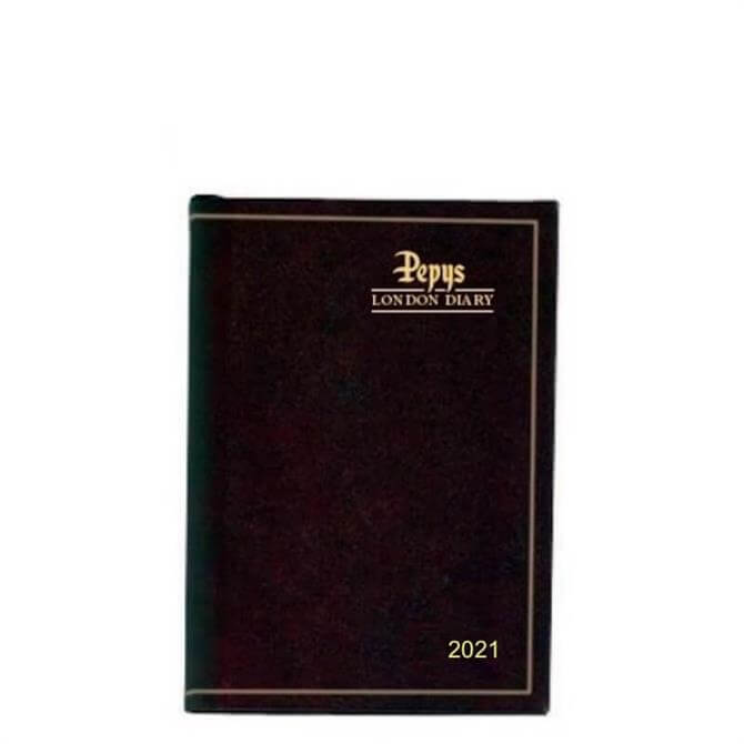 Dataday Pepys London 2021 One Week-to-View Pocket Diary- Assorted Colours