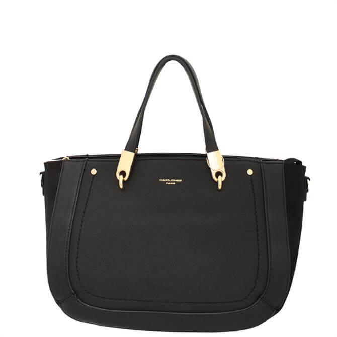 David Jones 6168-2 Black Multiway Bag