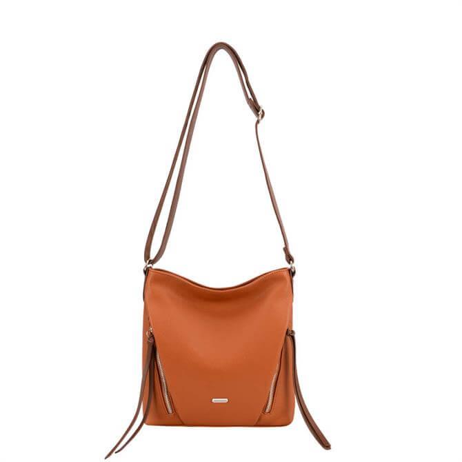 David Jones NV6218-1 Tassel Detail Crossbody Bag