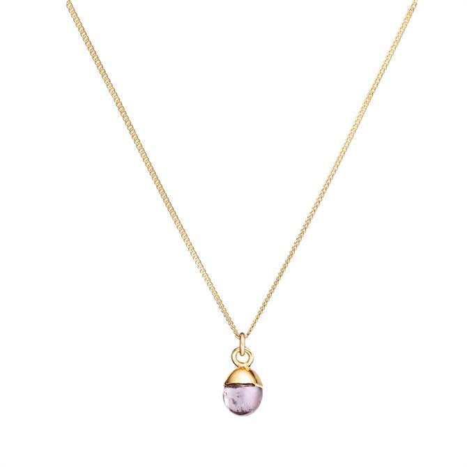 Decadorn Tiny Tumbled Gemstone Necklace