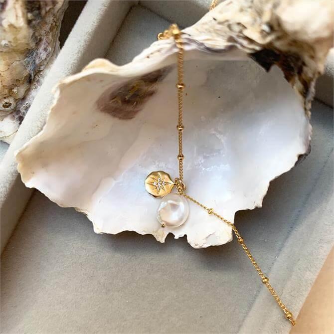 Decadorn Sea Pearl & Coin Necklace