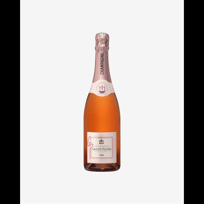 Sparkling Brut Rosé Champagne Gratiot-Pillière 70cl