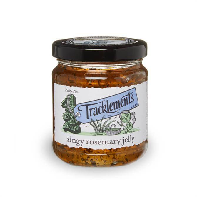 TRACKLEMENTS ZINGY ROSEMARY JELLY 250G