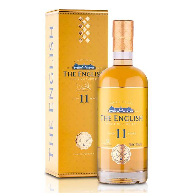 The English Whisky Co 11 Year Old Single Malt 70cl