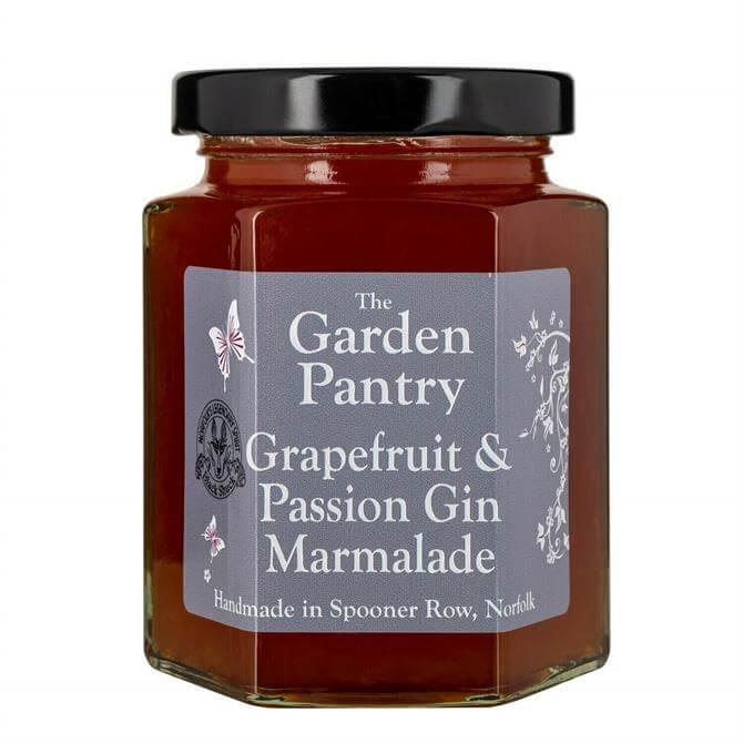 THE GARDEN PANTRY GRAPEFRUIT & PASSION GIN MARMALADE 240G