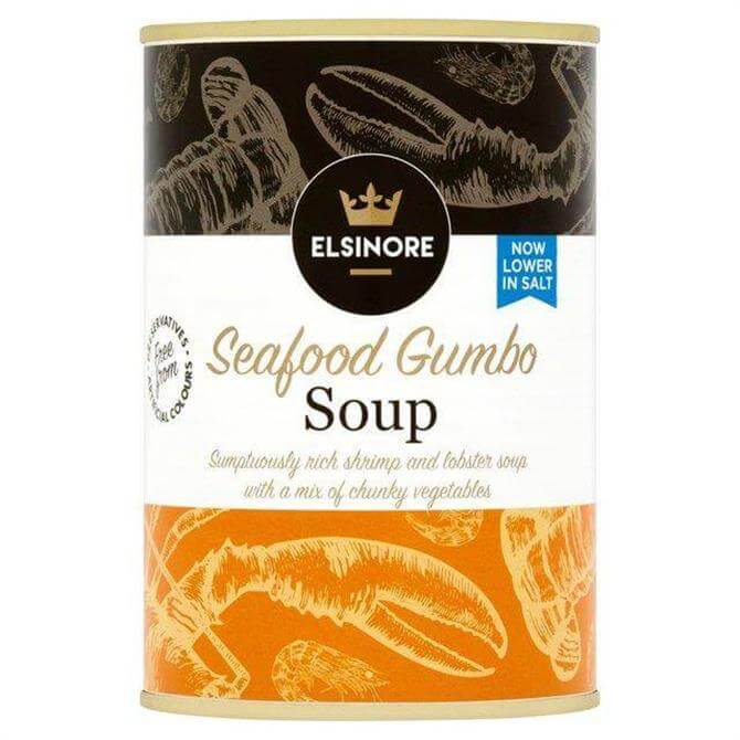 ELSINORE SEAFOOD GUMBO SOUP 400G