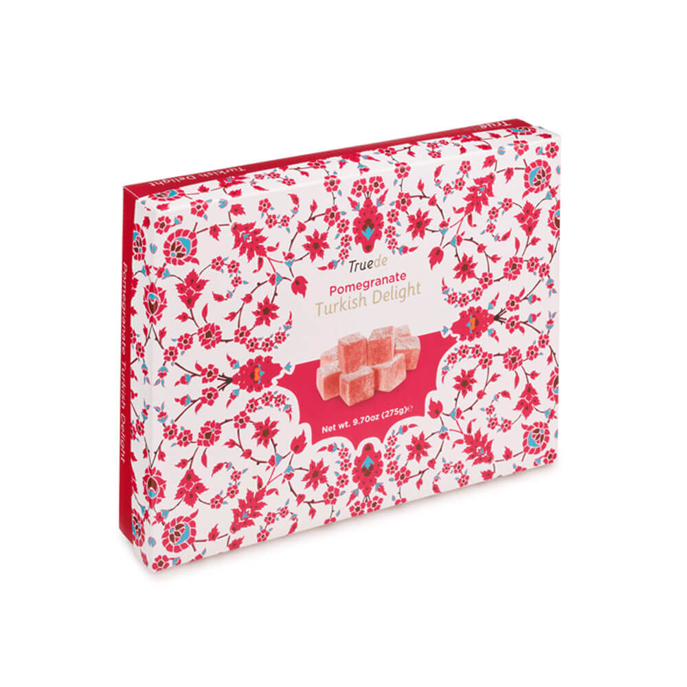 An image of Truede Pomegranate Turkish Delight 275g