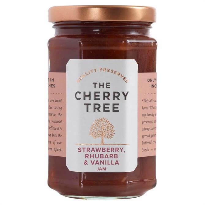 The Cherry Tree Strawberry, Rhubarb & Vanilla Jam