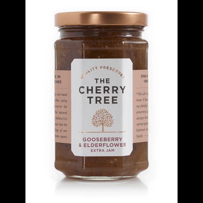 The Cherry Tree Gooseberry & Elderflower Extra Jam