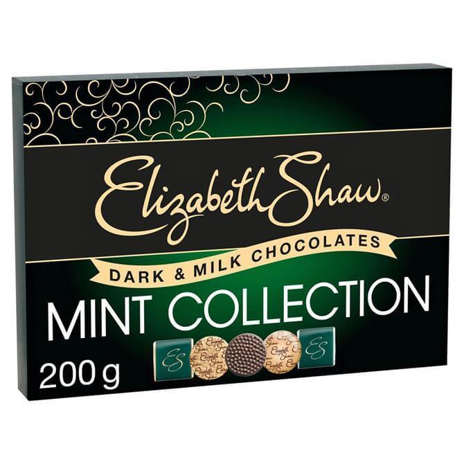 Elizabeth Shaw Dark & Milk Chocolate Mint Collection 200G