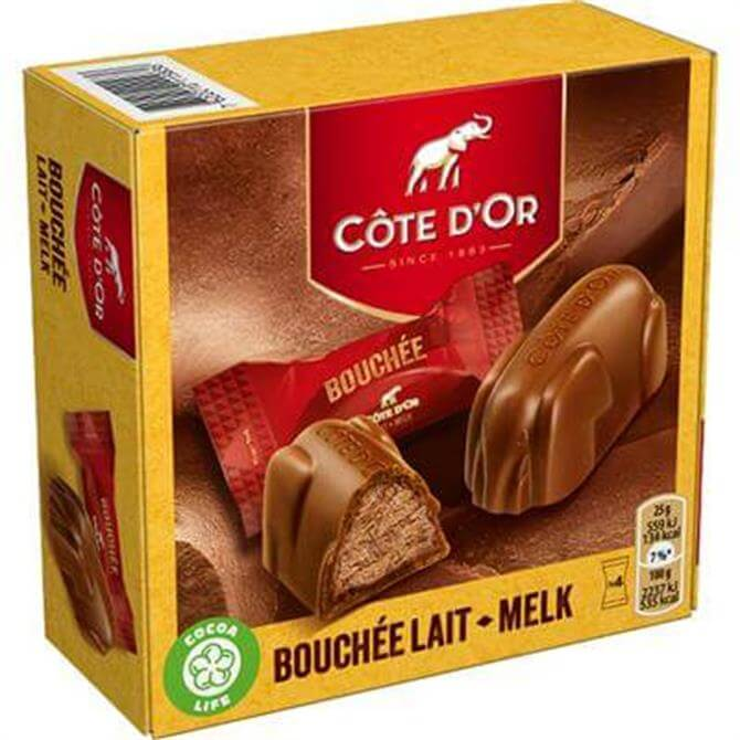 Cote D'or Bouchee Filled With Praline 4pc