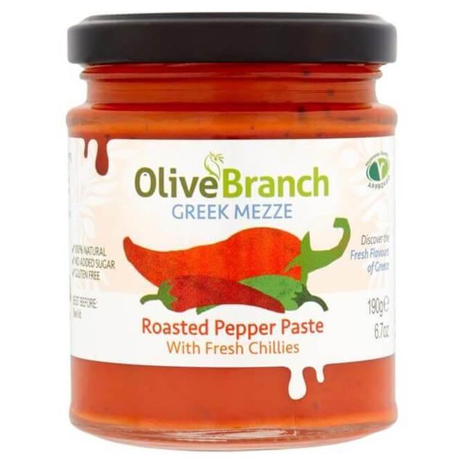 Olive Branch Roasted Pepper Paste 190g
