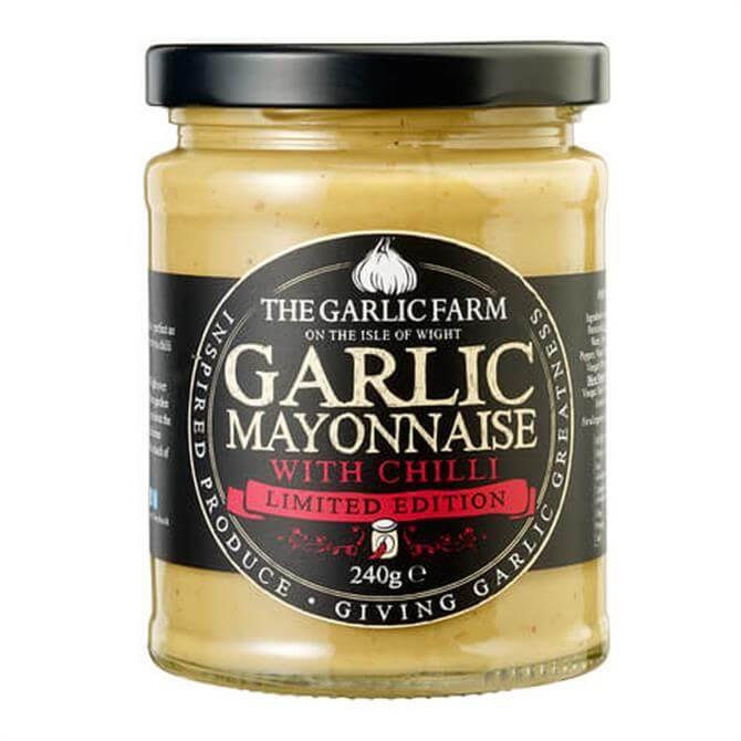The Garlic Farm Garlic Mayonnaise With Chili 240G