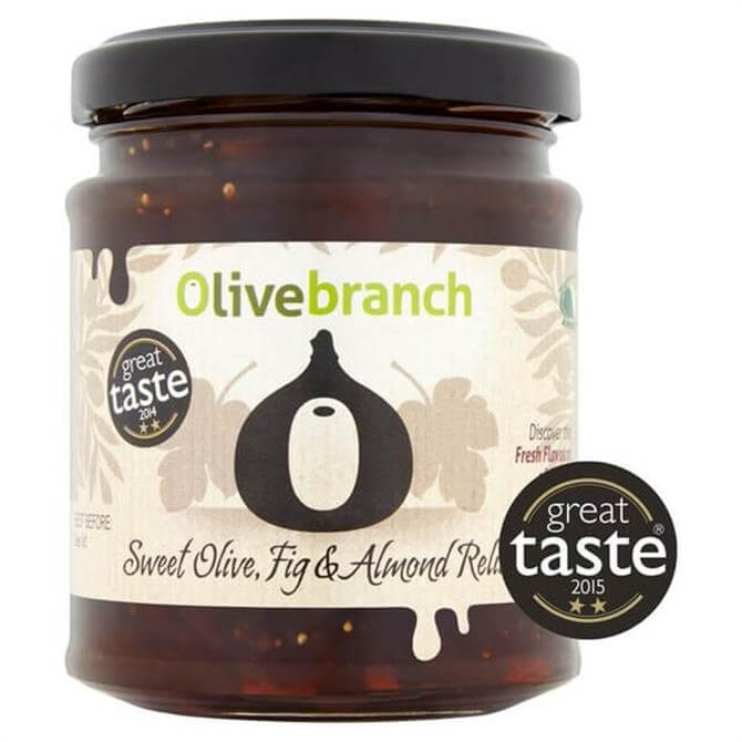 Olive Branch Sweet Olive, Fig & Almond Relish 230g