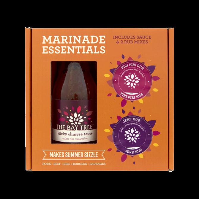 The Bay Tree Marinade Essentials Gift Set