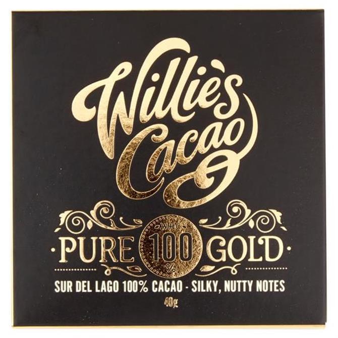 Willlies Cacao - Pure Gold Sur de Lago 100% Cacao