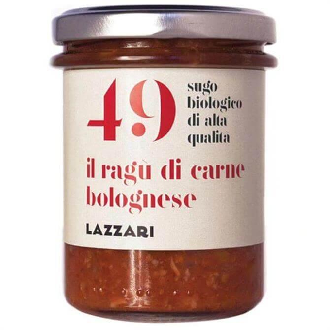 Lazzari Organic 49 Bolognese Ragu Pasta Sauce 180g