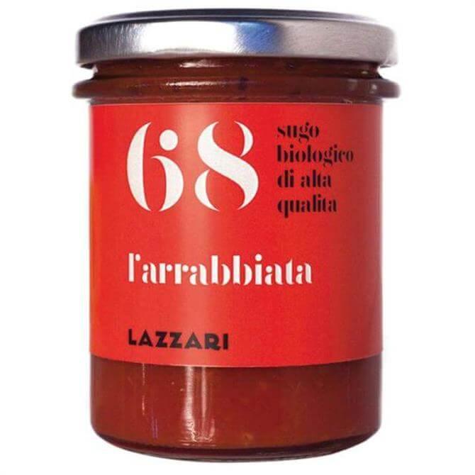 Lazzari Organic 68 Arrabbiata Pasta Sauce 180g